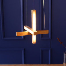 Led cross 40 mikko karkkainen suspension pendant light  tunto ledcross noyer  design signed 46217 thumb