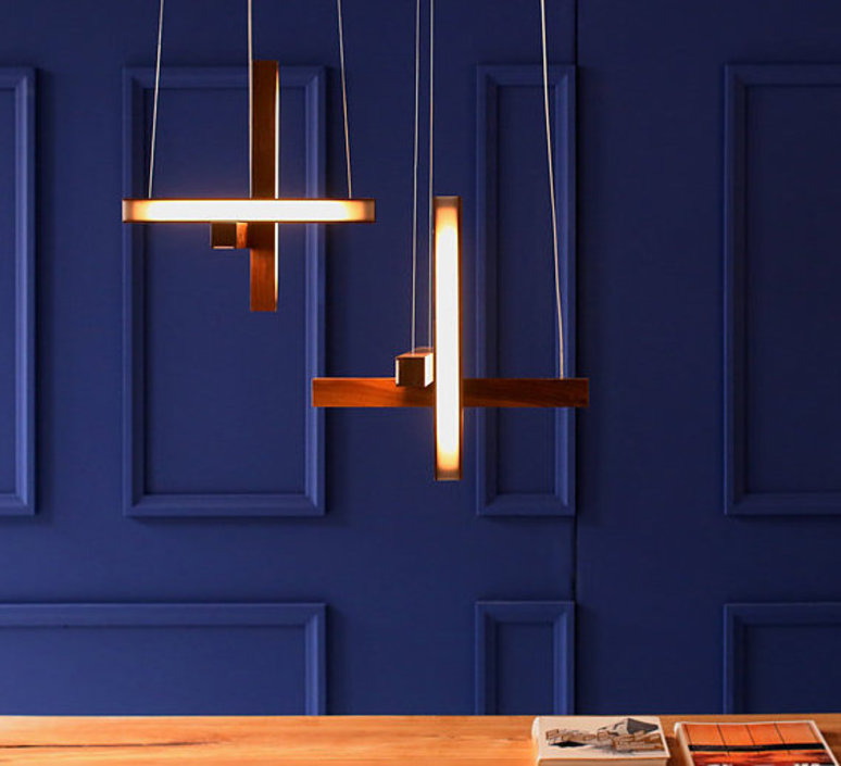 Led cross 40 mikko karkkainen suspension pendant light  tunto ledcross noyer  design signed 46218 product