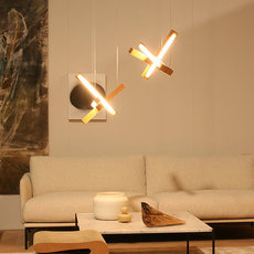 Led cross 40 mikko karkkainen suspension pendant light  tunto ledcross noyer  design signed 46219 thumb