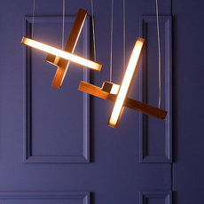 Led cross 40 mikko karkkainen suspension pendant light  tunto ledcross noyer  design signed 46220 thumb