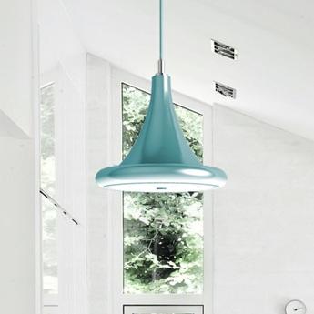 Suspension led dimable radius core bleu o39cm ilomio normal