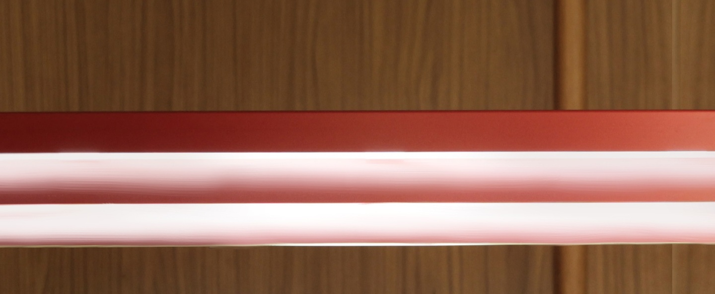 Suspension led gable rouge h9 2cm innermost normal
