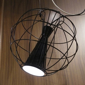 Suspension led latitude noir o40cm innermost normal