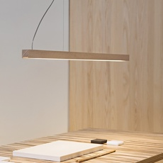 Led28 mikko karkkainen tunto led28 pendant lamp 80 oak luminaire lighting design signed 27845 thumb