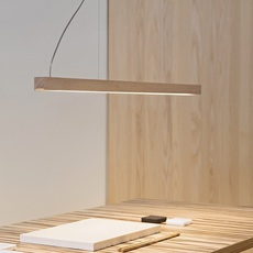 Led28 mikko karkkainen tunto led28 pendant lamp 80 oak luminaire lighting design signed 75645 thumb