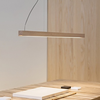 Suspension led28 chene 3000k dimmable l100cm tunto normal