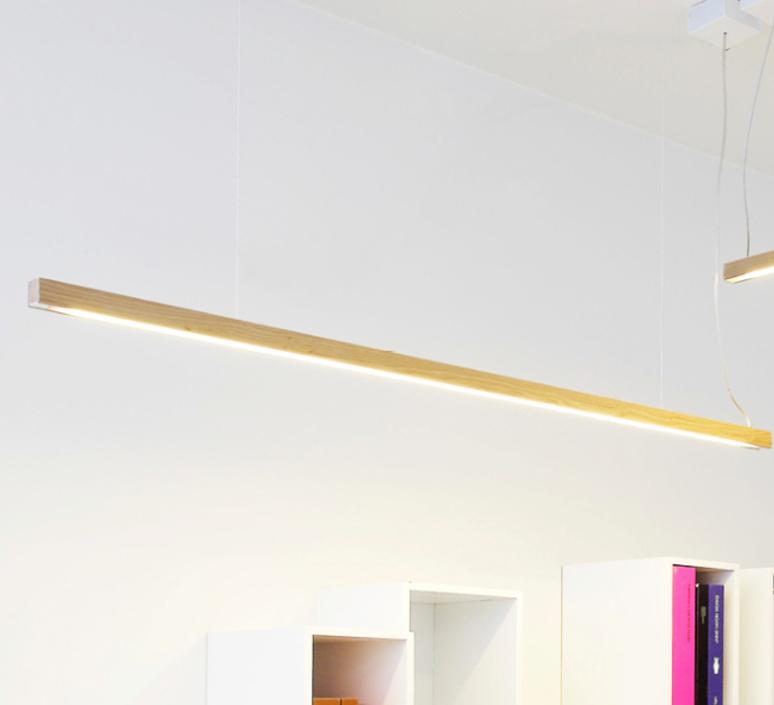 Led28 mikko karkkainen tunto led28 pendant lamp 120 oak luminaire lighting design signed 12243 product