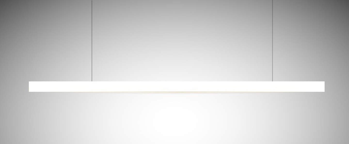 Suspension led40 blanc l100cm tunto normal