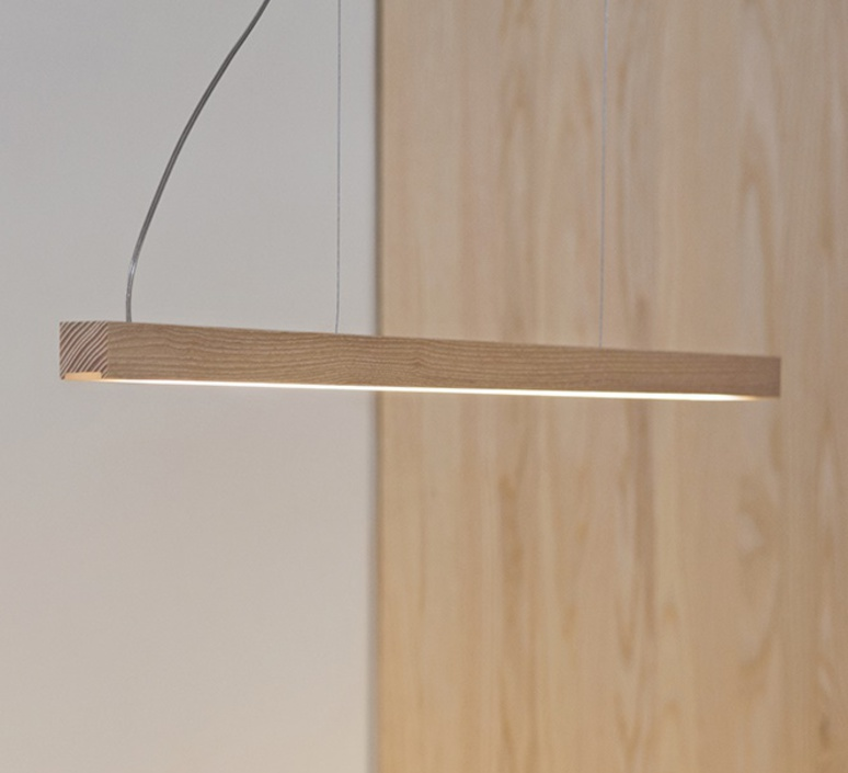 Led40 mikko karkkainen tunto led40 pendant lamp 70 walnut luminaire lighting design signed 18555 product