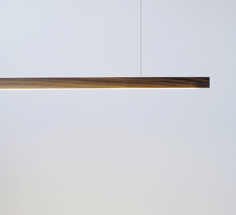 Led40 mikko karkkainen tunto led40 pendant lamp 100 walnut luminaire lighting design signed 12260 product