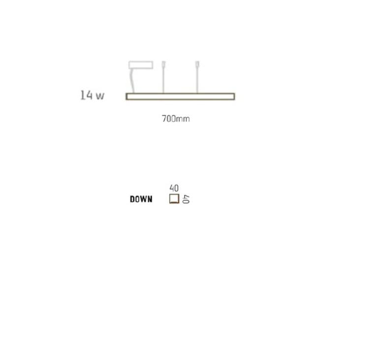 Led40 mikko karkkainen tunto led40 pendant lamp 70 walnut luminaire lighting design signed 12269 product