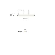 Led40 mikko karkkainen tunto led40 pendant lamp 70 walnut luminaire lighting design signed 12269 thumb