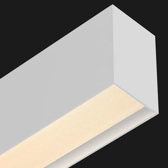 Suspension ledliner85 down blanc led 2700k 9252lm l256 4cm h13 7cm doxis normal