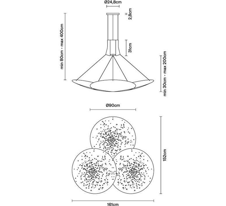 Lens f46 lucie koldova suspension pendant light  fabbian f46a07 99  design signed 39982 product