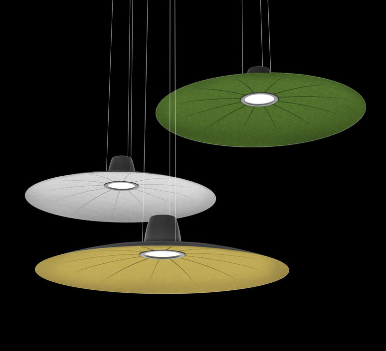 Lent yonoh estudio creativo suspension pendant light  martinelli luce 21001 dim gr  design signed 52436 product