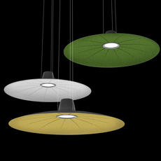 Lent yonoh estudio creativo suspension pendant light  martinelli luce 21001 dim gr  design signed 52436 thumb