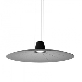 Suspension lent gris led o110cm h9cm martinelli luce normal
