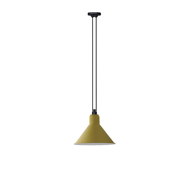 Les acrobate de gras n 322 bernard albin gras suspension pendant light  dcw n 322 sha xl in conic yellow  design signed nedgis 103456 product