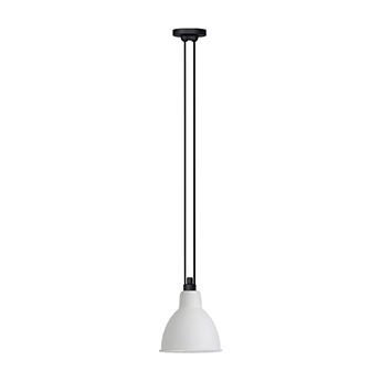 Suspension les acrobates de gras n 322 blanc interieur cuivre o17cm h17cm dcw editions paris normal