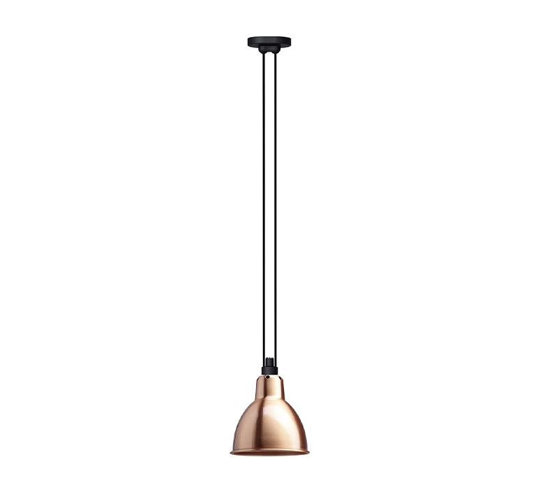 Les acrobates de gras n 322 bernard albin gras suspension pendant light  dcw 322 sha l round copper  design signed nedgis 102827 product