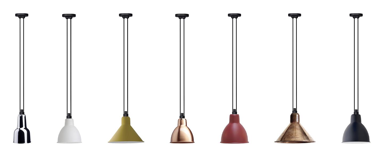 Suspension les acrobates de gras n 322 cuivre cuivre interieur o26cm h21 6cm dcw editions paris normal