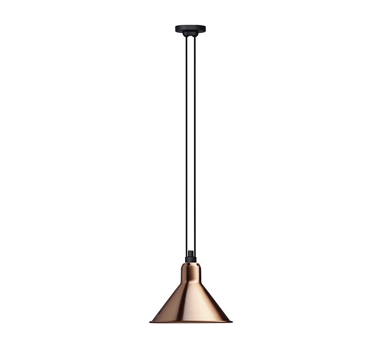 Les acrobates de gras n 322 bernard albin gras suspension pendant light  dcw 322 sha l conic copper  design signed nedgis 102739 product