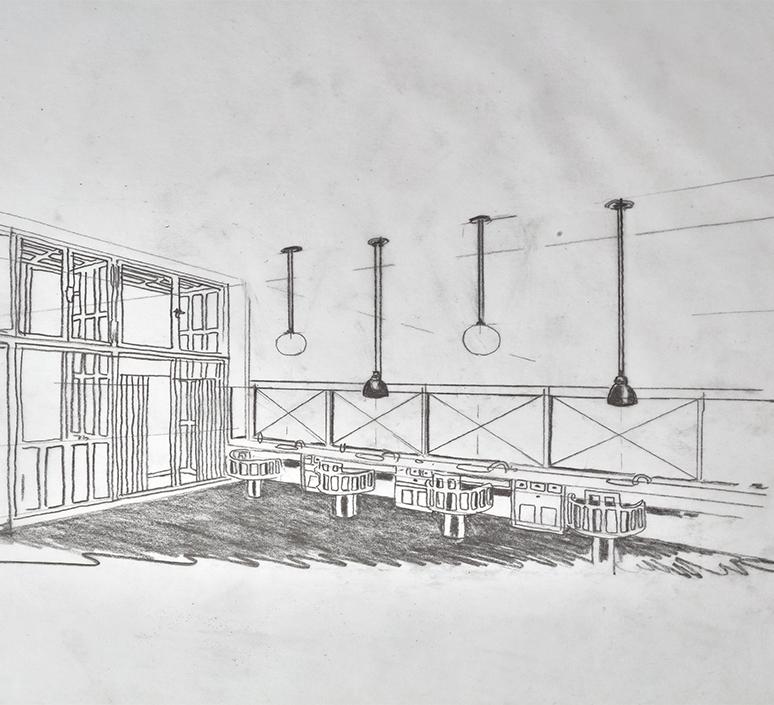 Les acrobates de gras n 322 bernard albin gras suspension pendant light  dcw 322 sha l conic copper  design signed nedgis 102741 product