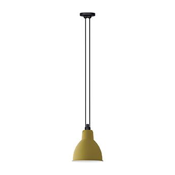 Suspension les acrobates de gras n 322 jaune interieur blanc o22cm h22cm dcw editions paris normal