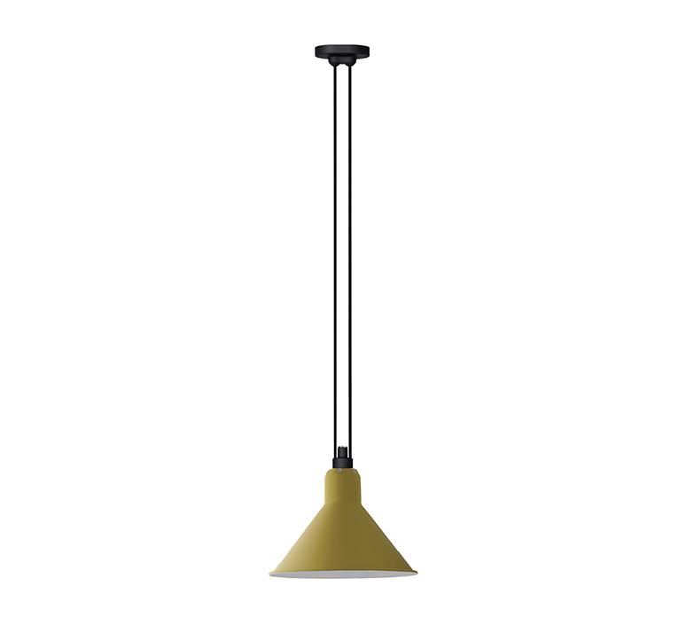 Les acrobates de gras n 322 bernard albin gras suspension pendant light  dcw 322 sha l conic yellow  design signed nedgis 102776 product