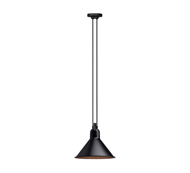 Les acrobates de gras n 322 bernard albin gras suspension pendant light  dcw n 322 sha l conic black copper  design signed nedgis 103207 product