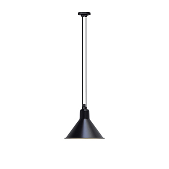 Suspension les acrobates de gras n 322 noir interieur blanc o32cm h23cm dcw editions paris normal