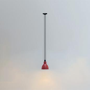 Suspension les acrobates de gras n 322 rouge interieur blanc o17cm h17cm dcw editions paris normal