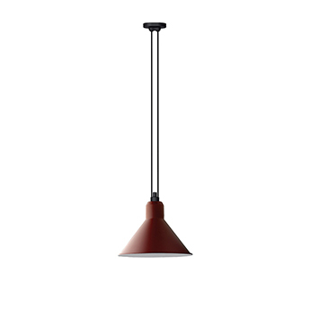 Suspension les acrobates de gras n 322 rouge interieur blanc o32cm h23cm dcw editions paris normal