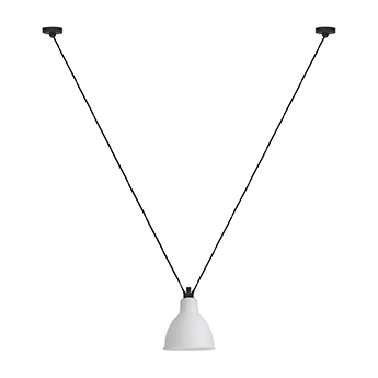 Suspension les acrobates de gras n 323 blanc interieur cuivre o17cm h17cm dcw editions paris normal