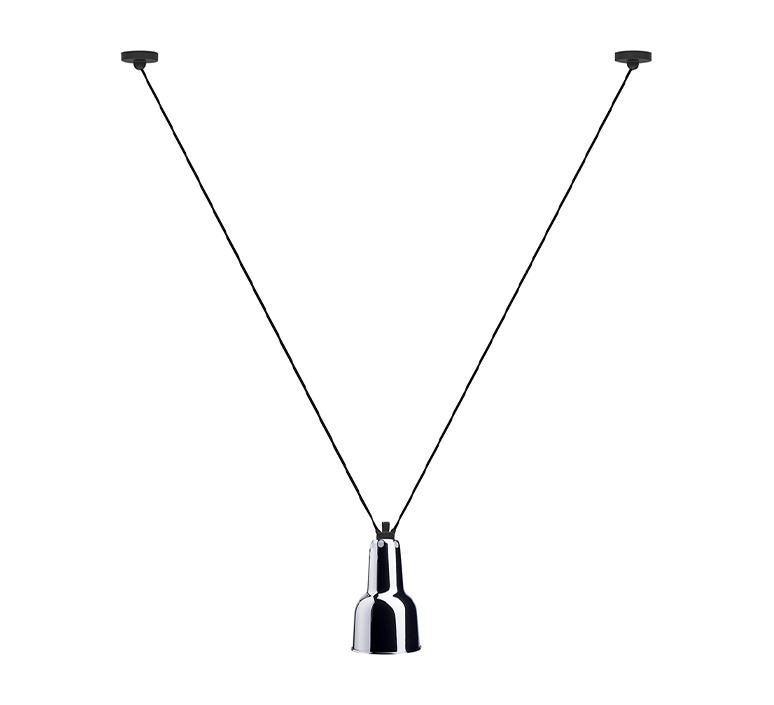 Les acrobates de gras n 323 bernard albin gras suspension pendant light  dcw 323 sha oc chrome  design signed nedgis 103310 product
