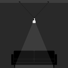 Les acrobates de gras n 323 bernard albin gras suspension pendant light  dcw 323 sha oc chrome  design signed nedgis 103311 thumb