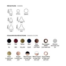 Les acrobates de gras n 326 bernard albin gras suspension pendant light  dcw n 323 sha l round copper  design signed nedgis 103655 thumb