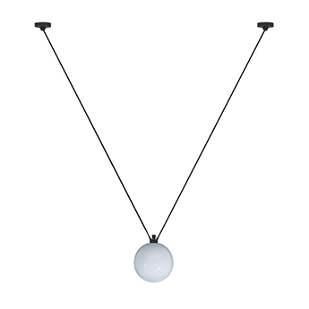 Suspension les acrobates de gras n 323 opalin o25cm h25cm dcw editions paris normal