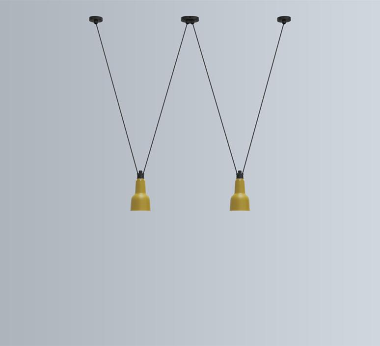 Les acrobates de gras n 324 bernard albin gras suspension pendant light  dcw n 324 sha xl in conic black  design signed nedgis 103673 product