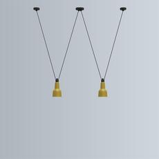 Les acrobates de gras n 324 bernard albin gras suspension pendant light  dcw n 324 sha xl in conic black  design signed nedgis 103673 thumb