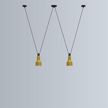 Suspension les acrobates de gras n 324 jaune l 13 5cm h24cm dcw editions normal