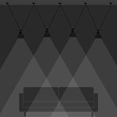 Les acrobates de gras n 324 bernard albin gras suspension pendant light  dcw  2 324  4 sha l round black part ac3  design signed nedgis 103534 thumb