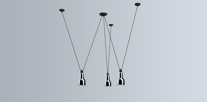 Suspension les acrobates de gras n 325 chrome o13 5cm h24cm dcw editions paris normal