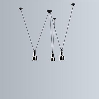 Suspension les acrobates de gras n 325 chrome o13 5cm h24cm dcw editions paris normal