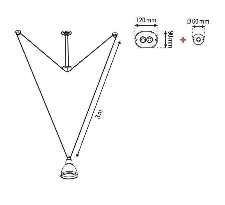 Les acrobates de gras n 328 bernard albin gras suspension pendant light  dcw 328 sha l round brass  design signed nedgis 103595 product
