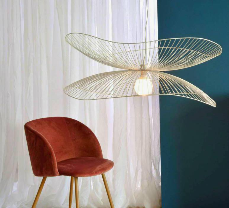 Libellule s elise fouin suspension pendant light  forestier 20635  design signed 56438 product