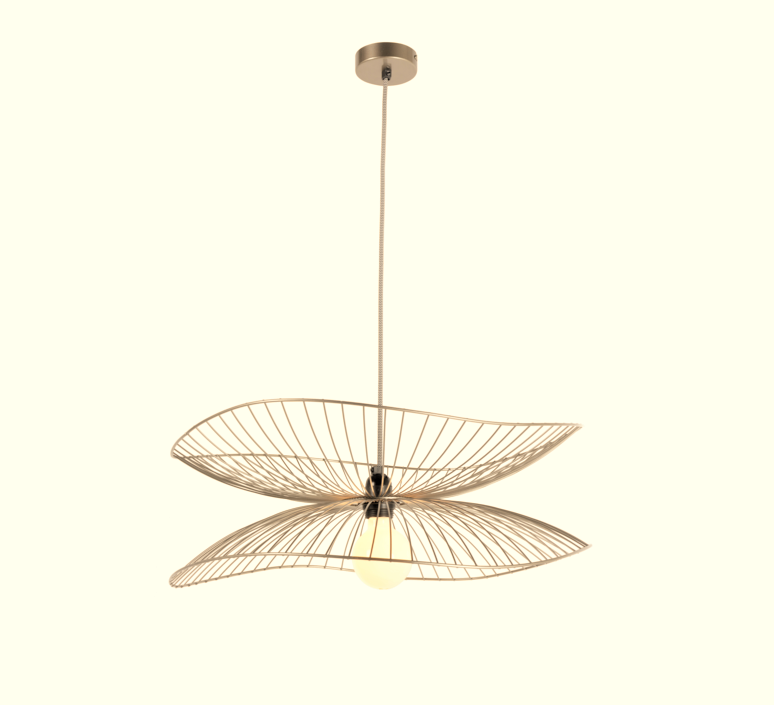 Libellule s elise fouin suspension pendant light  forestier 20635  design signed 56439 product