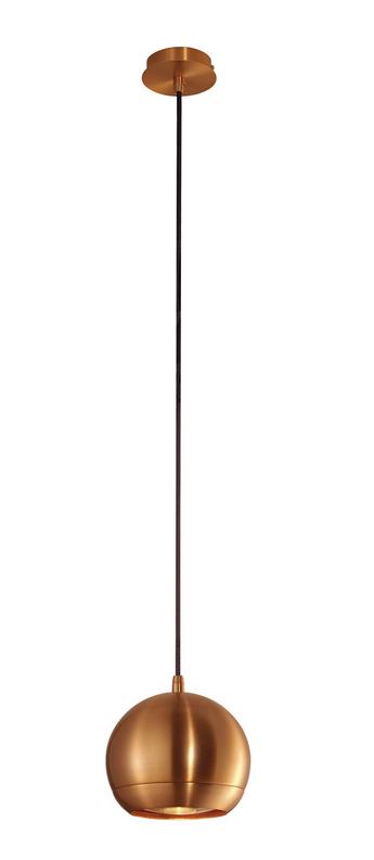Suspension light eye 150 cuivre o15cm h12cm slv normal