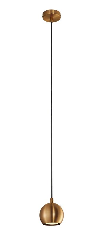 Suspension light eye 90 cuivre o8 9cm h9 4cm slv normal