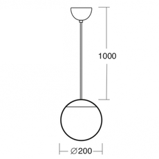 Light o 097 studio zangra suspension pendant light  zangra light o 097 go 001  design signed nedgis 121542 thumb